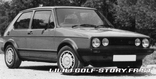 golf story l 39 histoire de la vw golf les photos de la. Black Bedroom Furniture Sets. Home Design Ideas