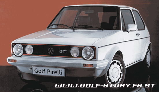 golf story l 39 histoire de la vw golf les photos de la golf 1 gti pirelli ou plus ou trophy. Black Bedroom Furniture Sets. Home Design Ideas