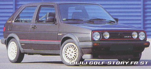 golf story l 39 histoire de la vw golf les photos de la golf 2 gti 16s. Black Bedroom Furniture Sets. Home Design Ideas