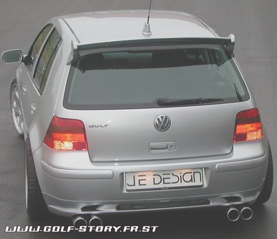 Тюнинг Volkswagen Golf.